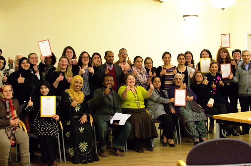 Celebrating quality education in Leeds supplementary schools: cllrdowsonandsupplementaryschools.jpg
