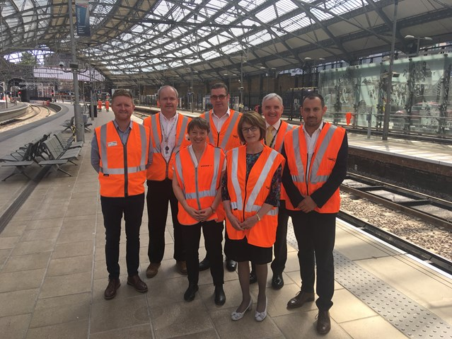Sneak peek at what the newly remodelled Liverpool Lime Street station will look like: Liverpool MPs with Network Rail and Merseytravel 27-07-2018