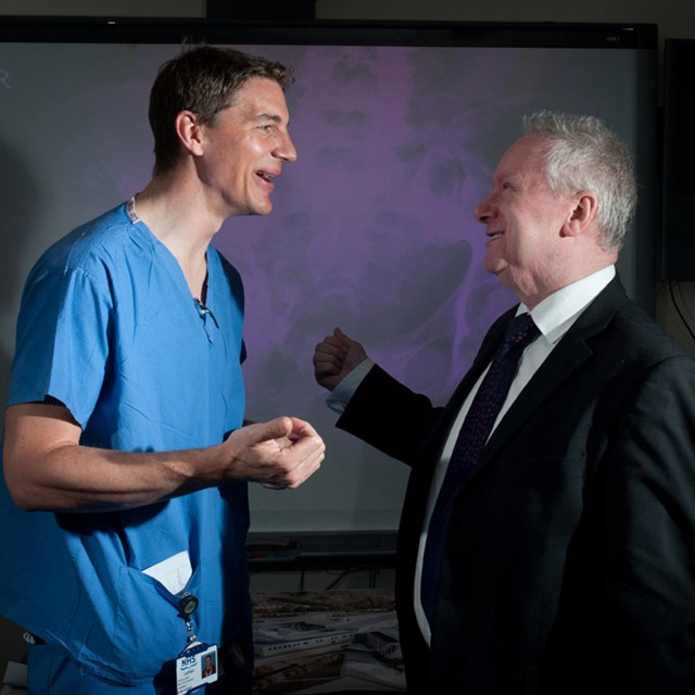 Alex Neil visits Edinburgh Royal Infirmary to announce the Major Trauma Network: This image belongs to Gareth Easton. For use of this image please use the contact details below: