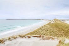 Dunes at Cata Sand looking towards Tresness, Sanday -Credit Scottish Natural Heritage (SNH)