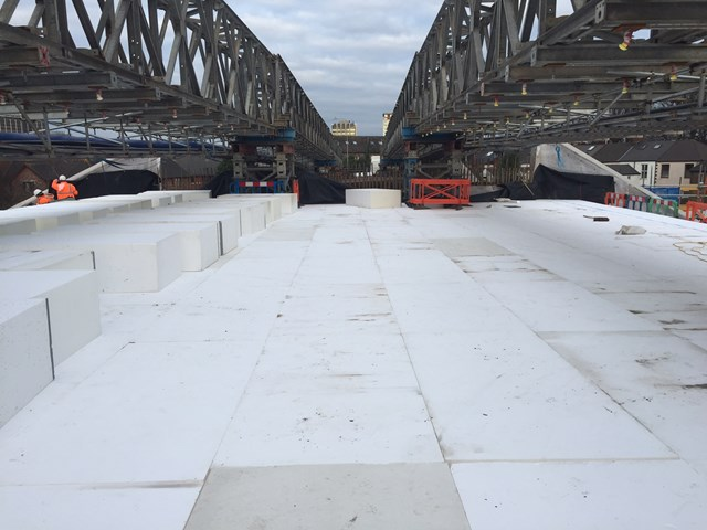 Innovative construction solution used by Network Rail in challenging Cardiff bridge project: Windsor Road Bridge 1