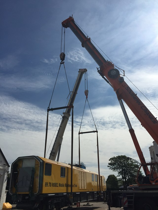 Mobile Maintenance Train (MMT) - delivery 3