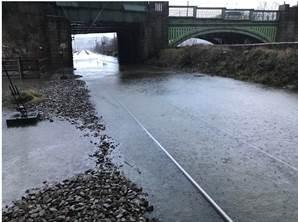 Flooding at Kirkstall Forge1