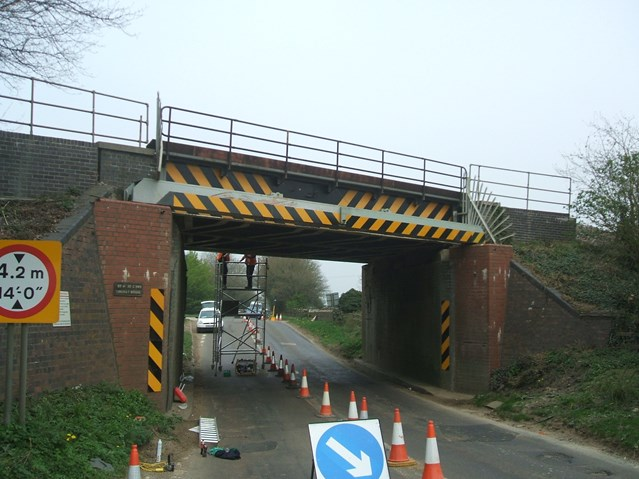 IT'S A STRIKE FOR KINGWAY BRIDGE: Kingway Bridge