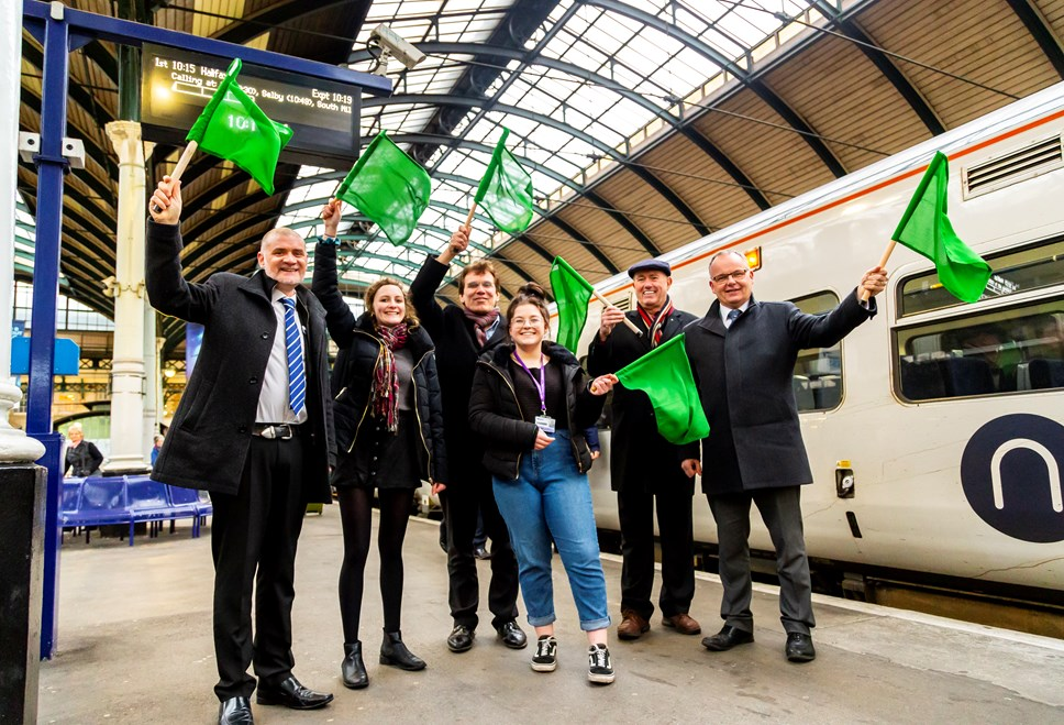 Northern celebrates new link between East and West Yorkshire: Hull - Halifax 19