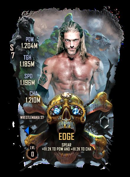 WWE SuperCard WM37 Edge