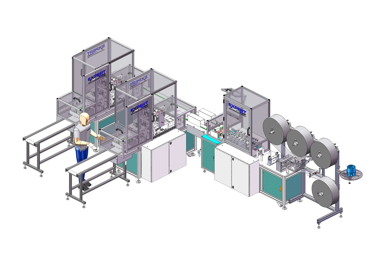 Reshoring: from automotive to critical Covid local manufacturing: Barrier Mc Full Assembly (002)