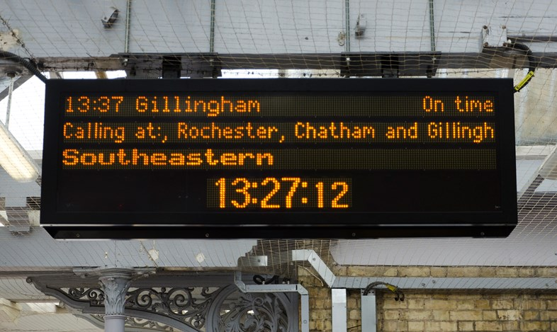 Southeastern confirms timetable changes for December 2019 – and advises passengers: check before you travel: CIS 1