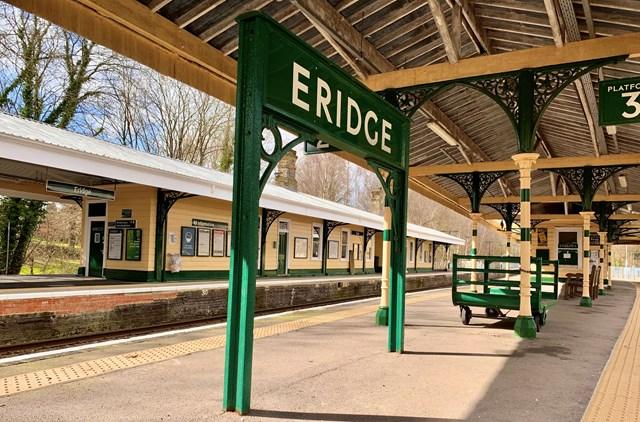 Beautifully restored - Eridge station
