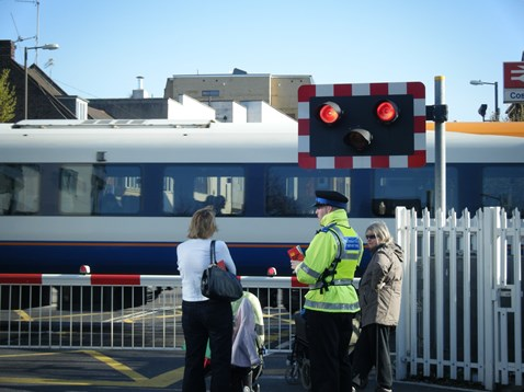 Level Crossing Awareness Day - Cosham