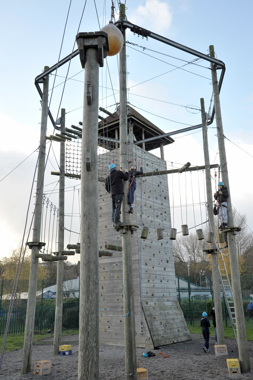 New name and exciting new times for West Leeds Activity Centre: climbing.jpg