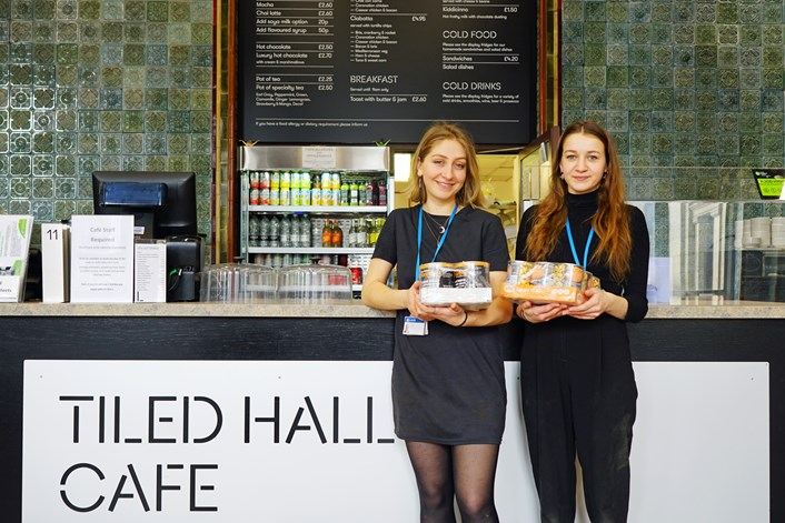 City's museums and galleries give NHS workers a tasty boost: TiledHallCafeStaff