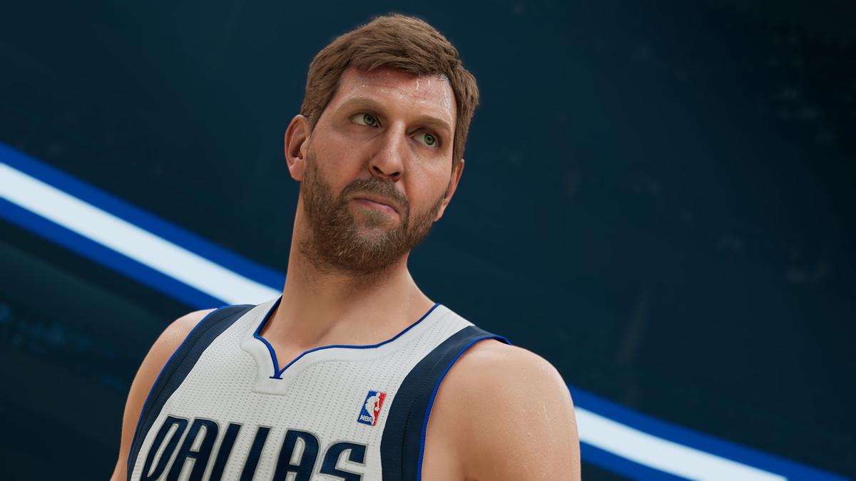 NBA 2K22 First Look Dirk Nowtizki