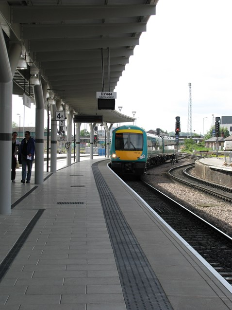 New Platform 4a Derby Station