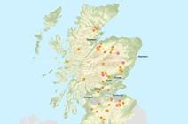 Birds of prey poisoning maps: Bird of Prey Map - List