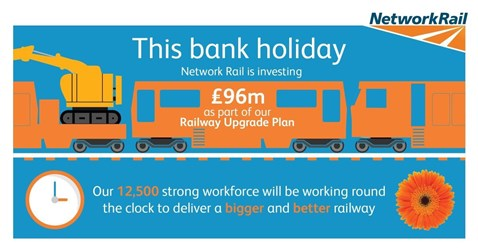 Early May bank holiday infographic