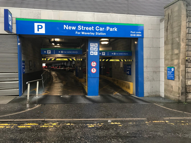Edinburgh Waverley supports key workers with free parking: Waverley car park
