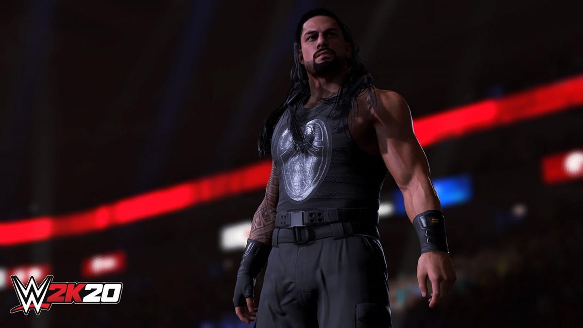 WWE2K20 Towers Roman Reigns