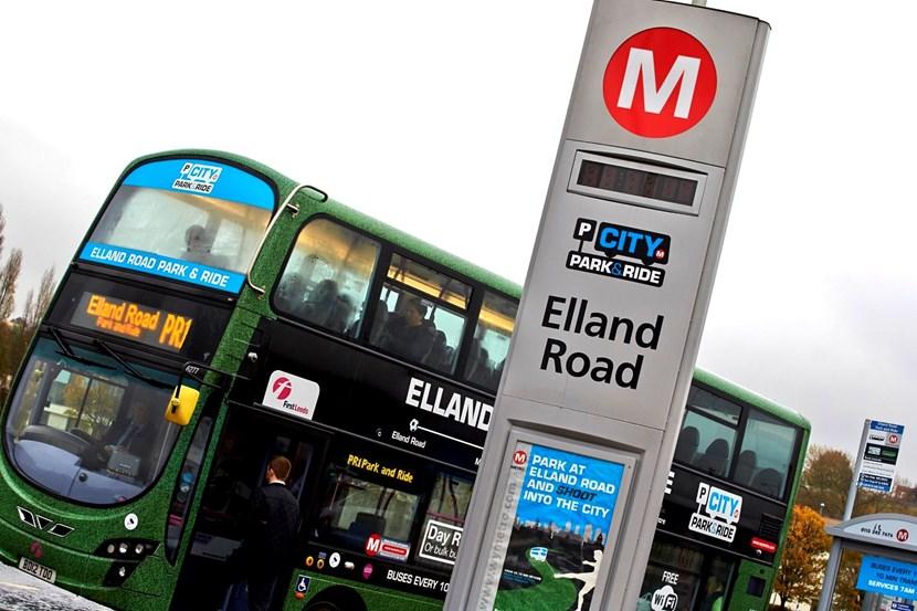 Growing demand sees Leeds' Elland Road park and ride services extended: ellandroadparkandride8.jpg