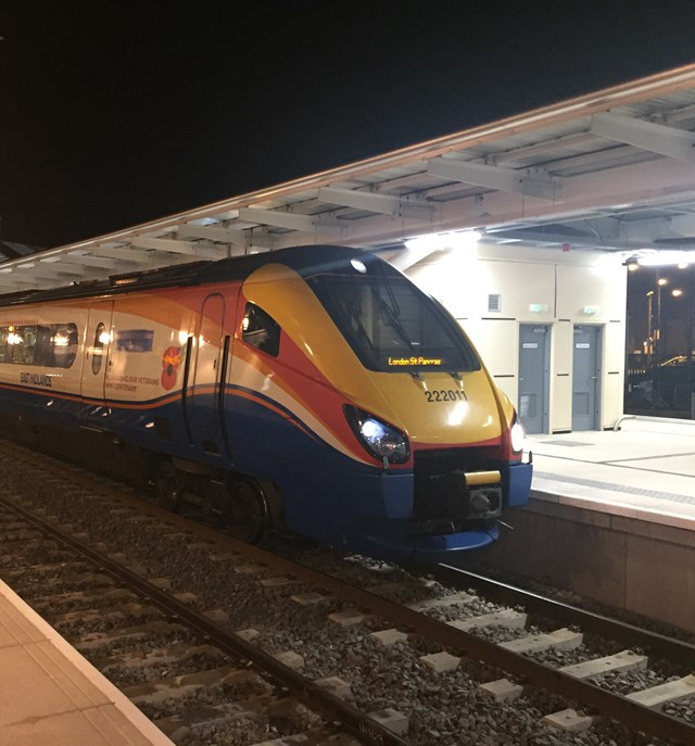 Rail industry thanks passengers as all train services resume at Derby following huge upgrade: Rail industry thanks passengers as all train services resume at Derby following huge upgrade