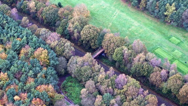 Beaconsfield bridge aerial 2