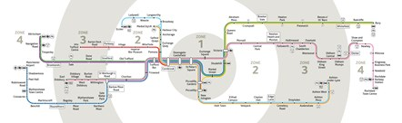 Metrolink network map 2020