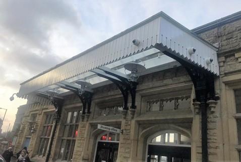 Lancaster station canopy