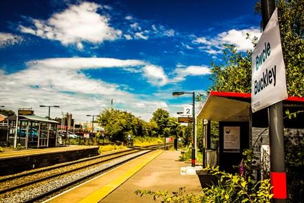 Buckley station full view: Credit: Robert Mann