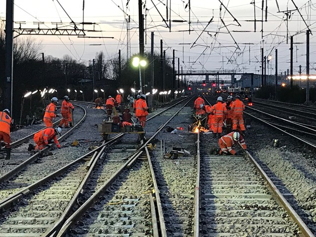 Scotland's Railway on-track for £16m Christmas upgrade: Haymarket Christmas 2019