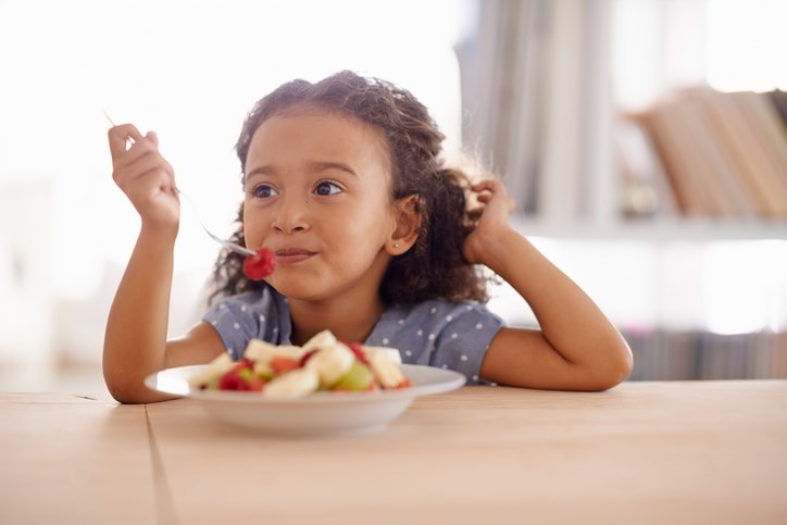 Child and food