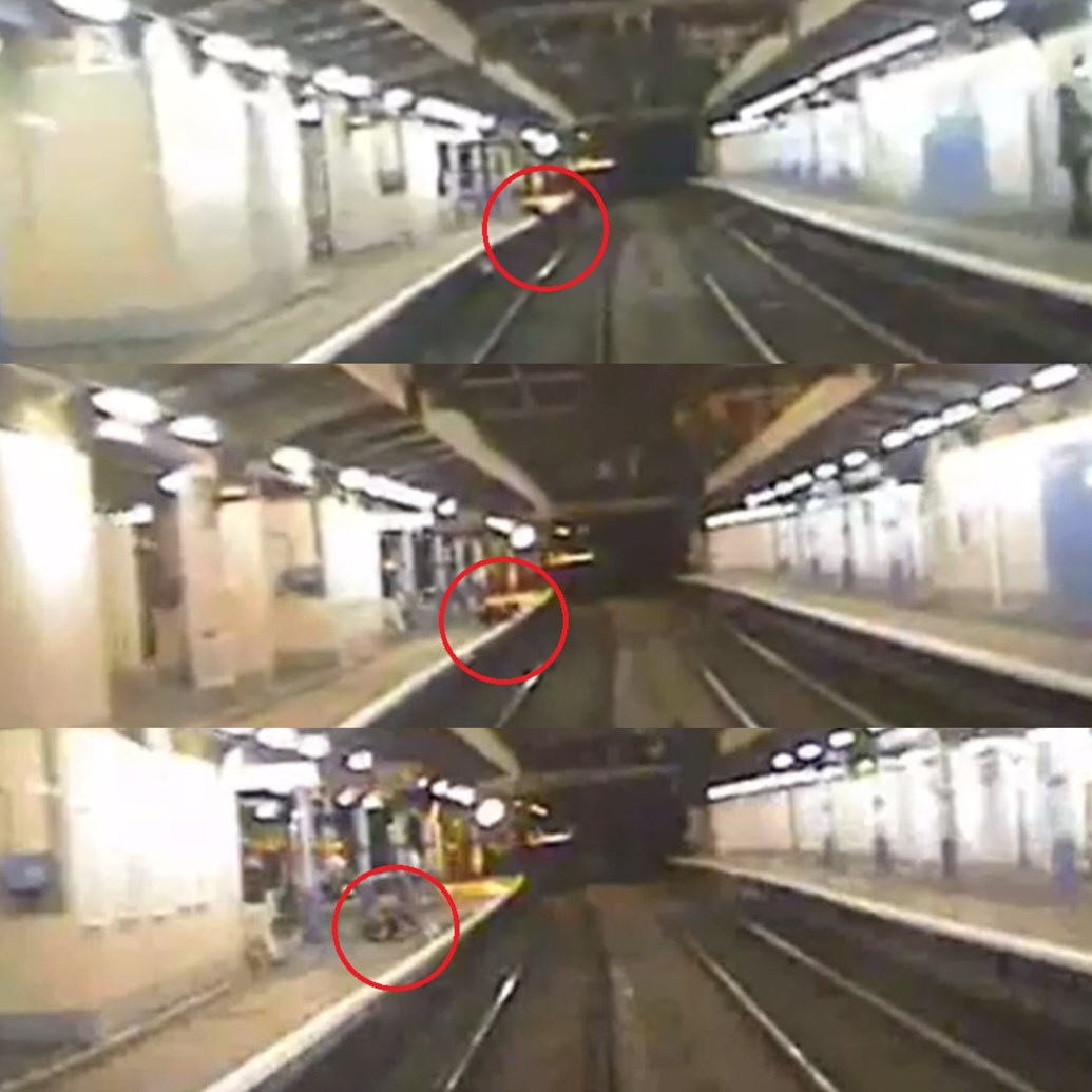 Shocking footage: Number of people risking their lives trespassing in Norwich hits five-year-high: Anglia platform trespass sequence