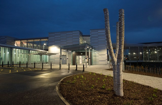 Network Rail station development scoops top engineering award: Edinburgh Gateway external