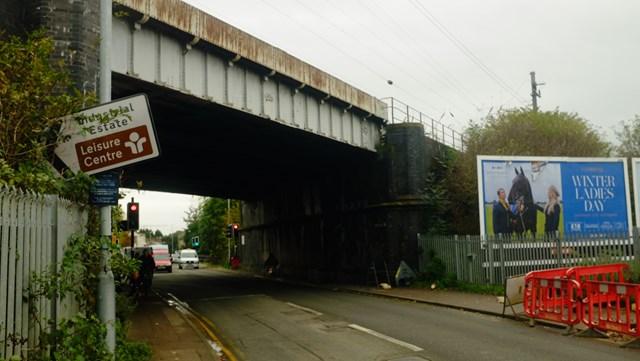 Huntingdon railway bridge set for upgrade: The 'Iron Bridge' in Huntingdon will be strengthened
