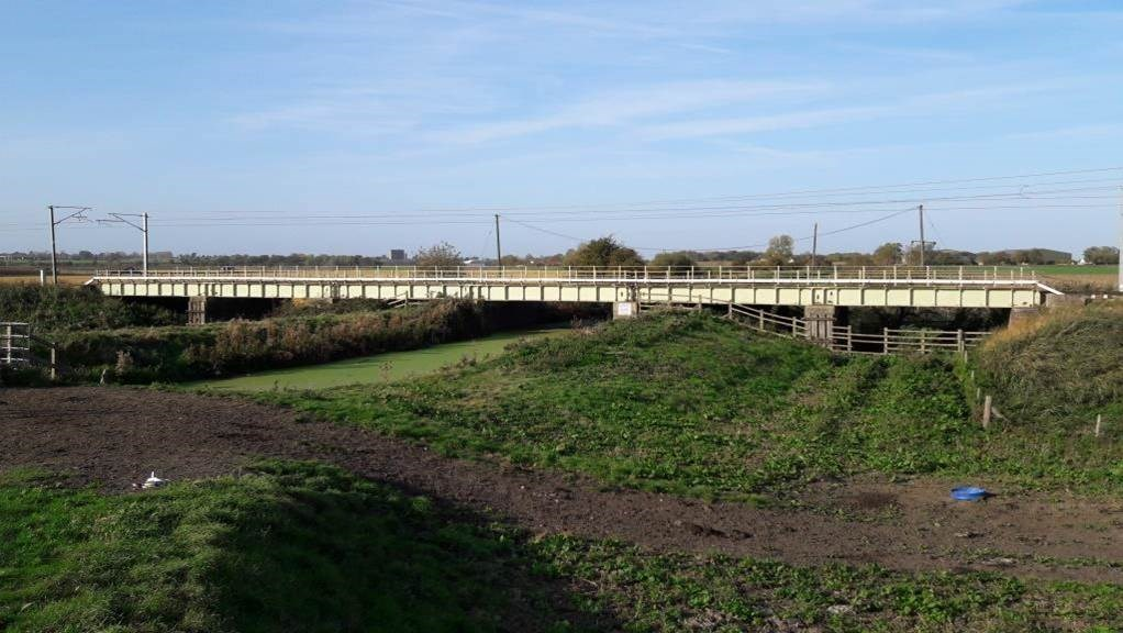 Railway bridge upgrades will prevent future delays for Ely to Kings Lynn passengers: Great Catch bridge in Ely