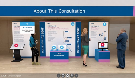 Have your say on HS2's latest proposals: HS2 consultation virtual exhibition room