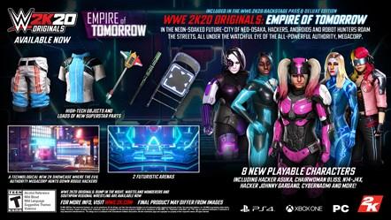 WWE2K20 Originals Empire of Tomorrow