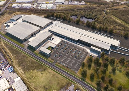 New images show exciting vision for Goole rail manufacturing site: Siemens Mobility Goole site CGI South perspective Feb 2020