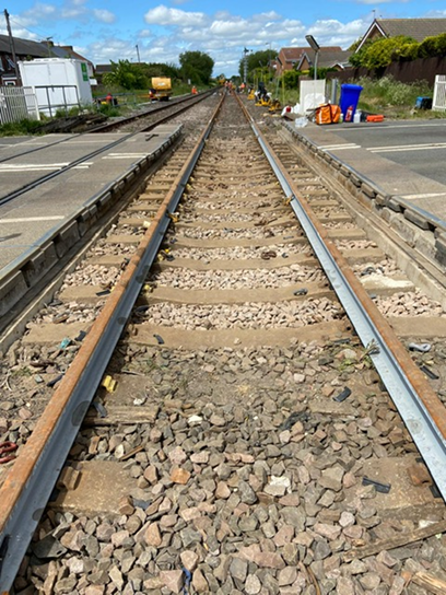 Network Rail begins transformational work to reopen Northumberland line 2