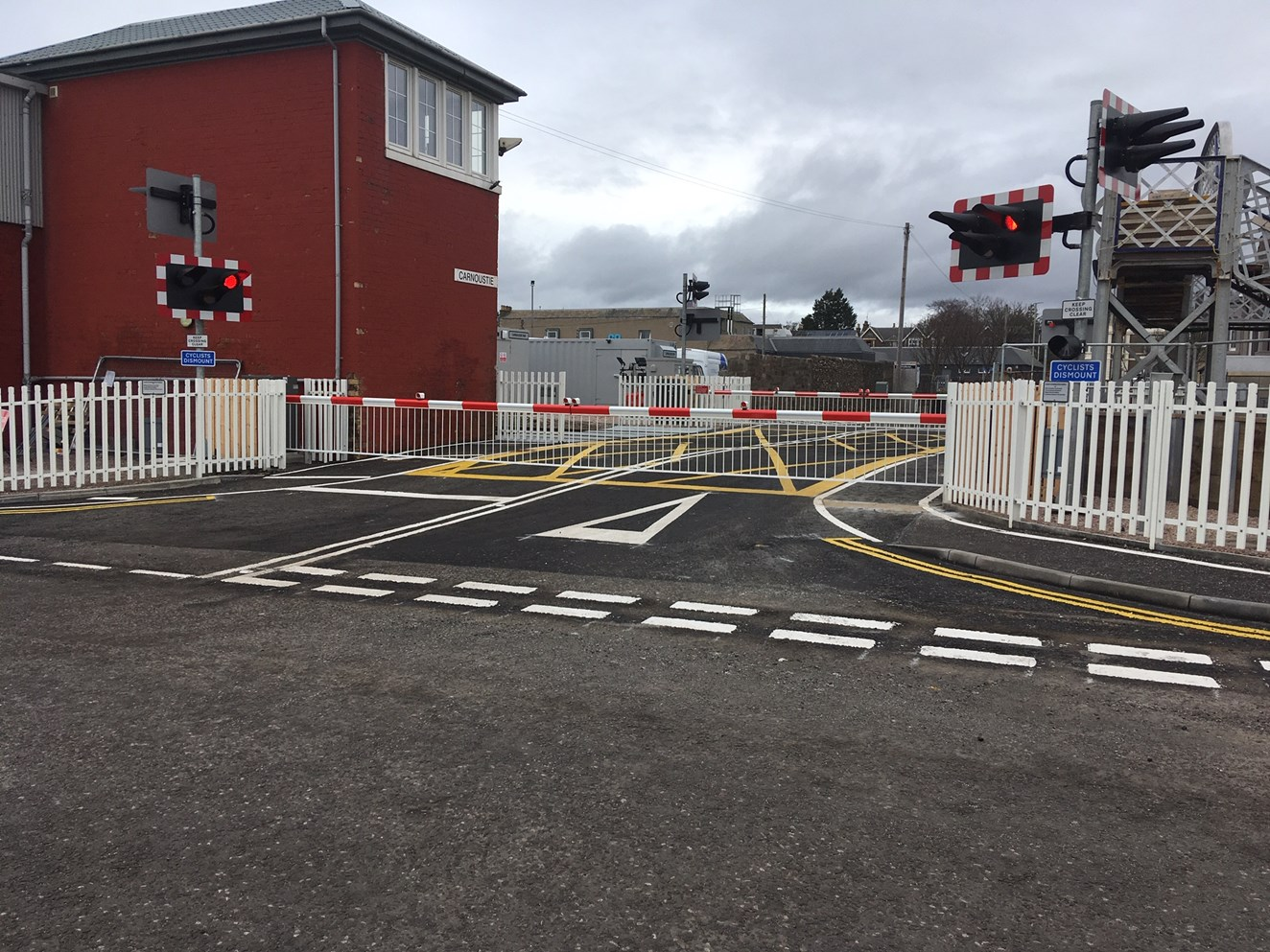 Positive signals for Carnoustie level crossing upgrade: IMG 1131