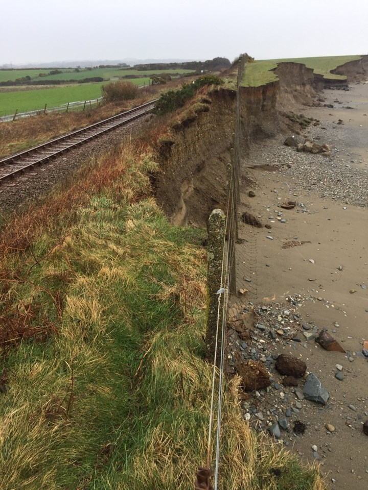 Storm Ciara: Damage to the Cambrian Line: Cambrian Line 4