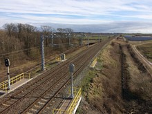 New electrification and signalling equipment between Preston and Blackpool