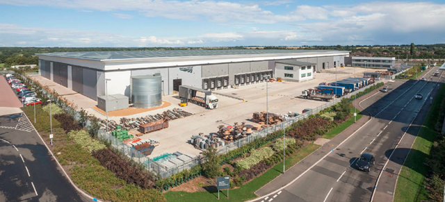 National Logistics Centre In Ryton Coventry