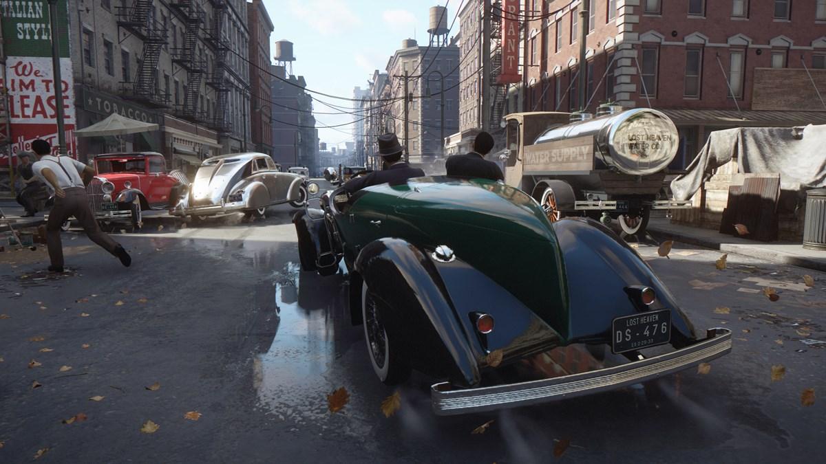 Mafia Announce Screenshot Car Chase