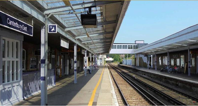 Canterbury East station