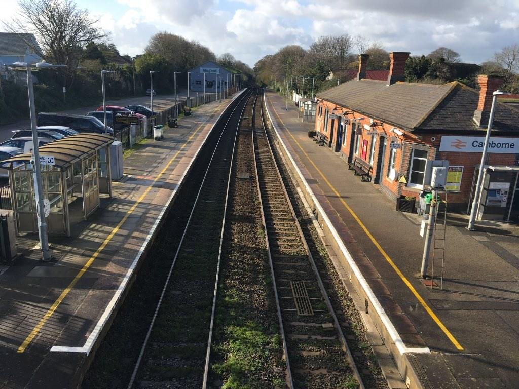 Camborne station