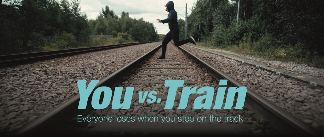 Looming lockdown lift sparks youth rail safety warning: You vs Train Parallel Lines