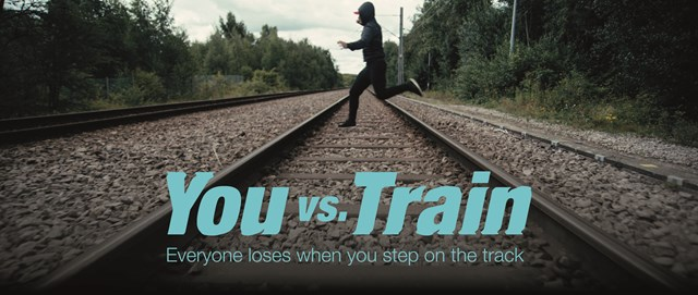 VIDEO - Lockdown lift and start of spring sparks youth rail safety warning across SW London, Surrey, Hampshire and Dorset: You vs Train Parallel Lines