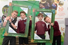 Camera trapping project - Crossfield Primary School pupils