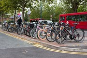 TfL Image - Cycle parking, Sheffield stands