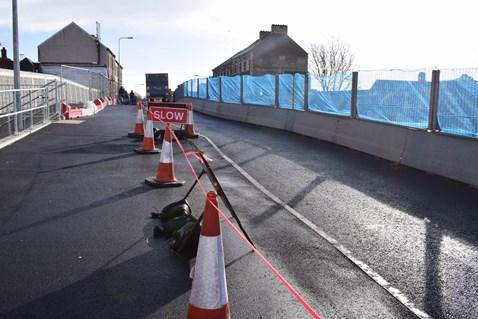 Splott Road bridge will close on 4 February